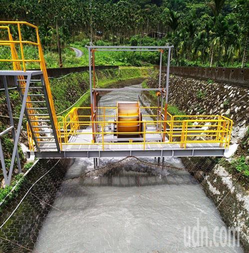 日月潭引水道向天圳 微水力發電結合小旅行推觀光