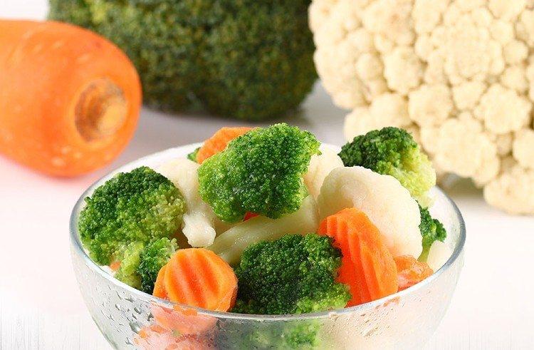 鮮凍蔬菜是ihergo愛合購今年中秋檔期的大熱門之一。圖/愛合購提供