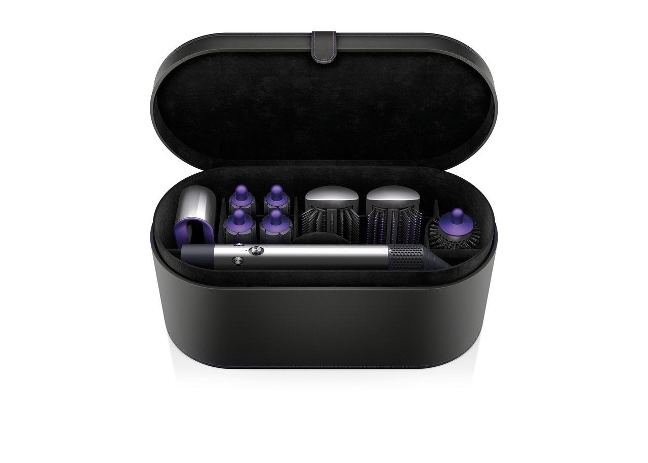 Dyson Airwrap造型器奢華紫限定版,建議售價17,600元。圖/恆隆行...
