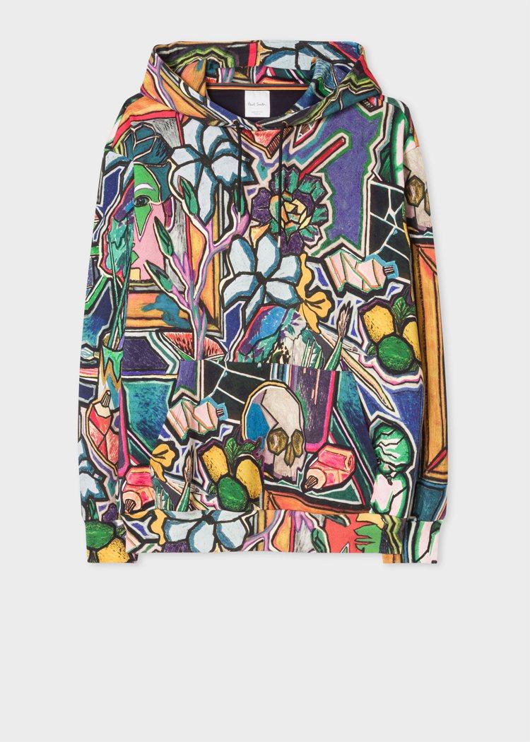 Paul Smith印花夾克,12,500元。圖/藍鐘提供