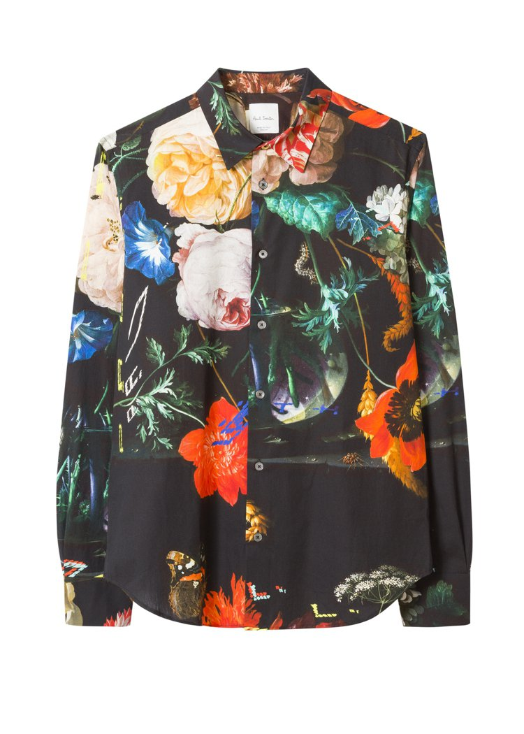 Paul Smith印花襯衫,14,500元。圖/藍鐘提供
