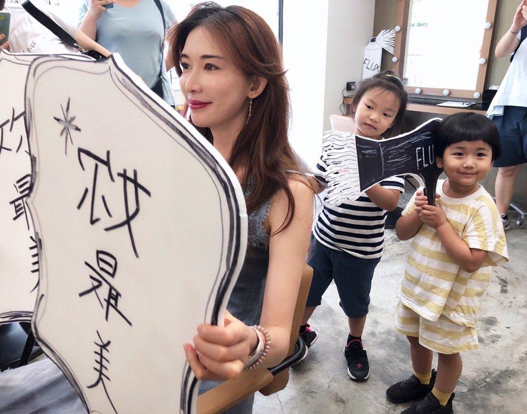 林志玲的慈善義賣派對邁入第3個月,據傳這次有望與新婚丈夫AKIRA合體。圖/志玲...