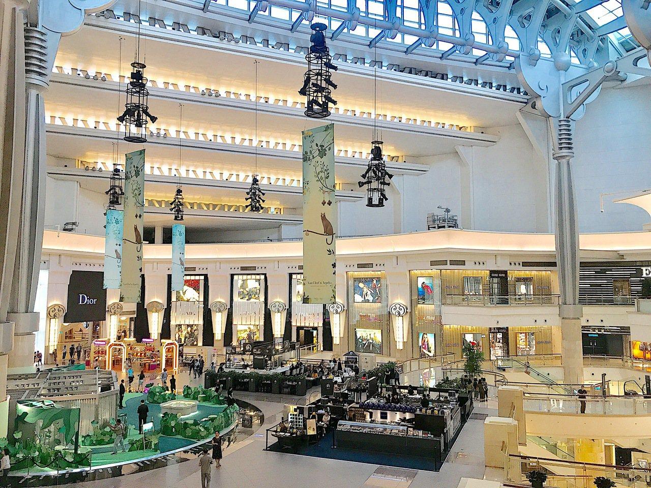 2019台北101購物中心周年慶9/5至10/6展開。記者江佩君/攝影