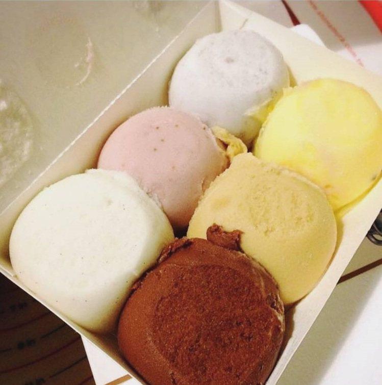 「和美冰果室」6顆一盒很超值。IG @mayday2000.tw提供
