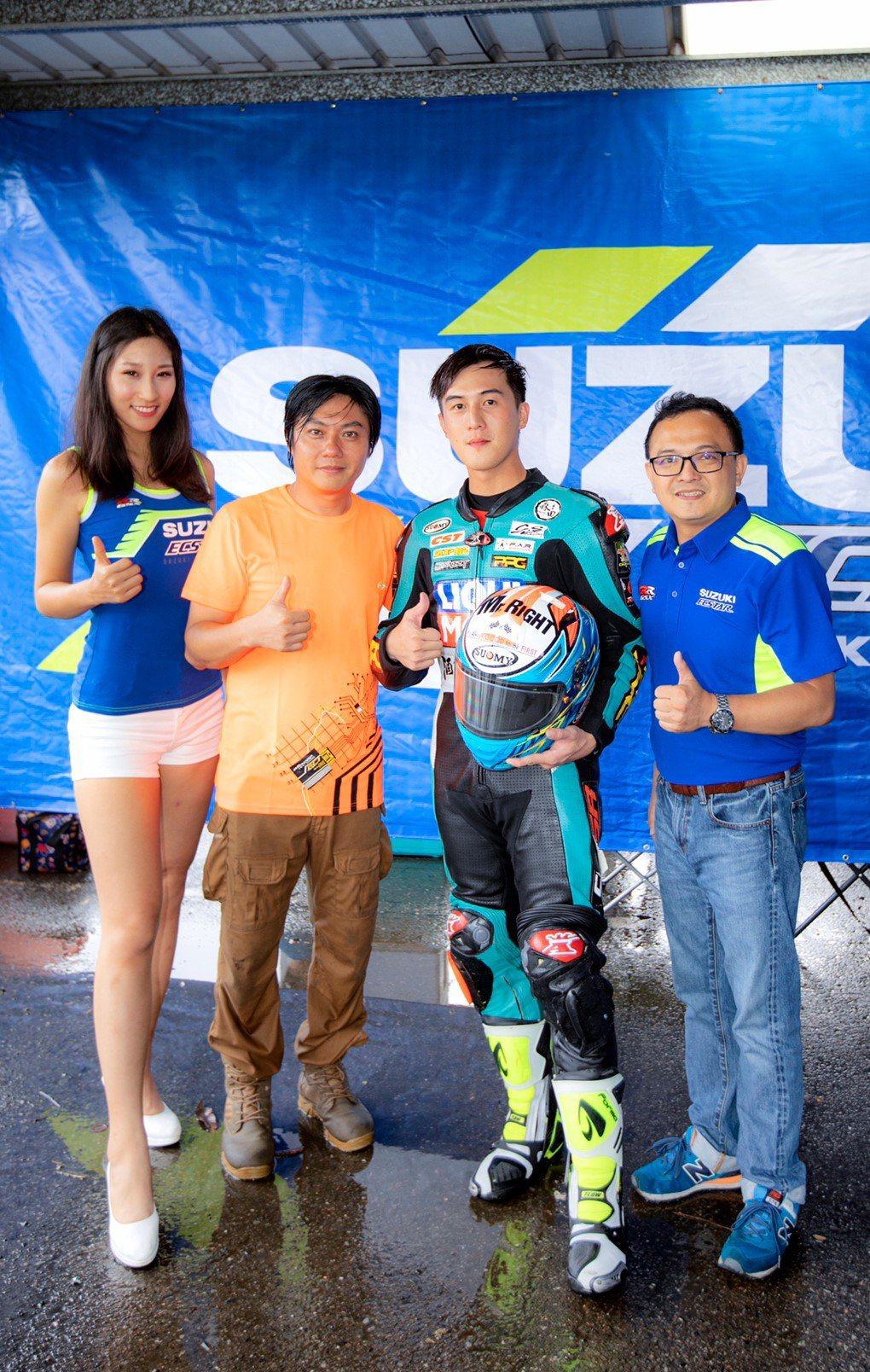 TSR年度積分總冠軍為 易宏JMRT進民車隊的高至均 獲得代表台灣至海外出賽機會...