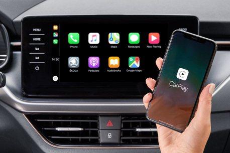 ŠKODA也可以使用無線Apple CarPlay了! 但不是每款車都有