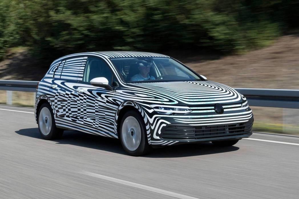 第八代Volkswagen Golf預計在秋天就會正式亮相。 摘自Volkswa...