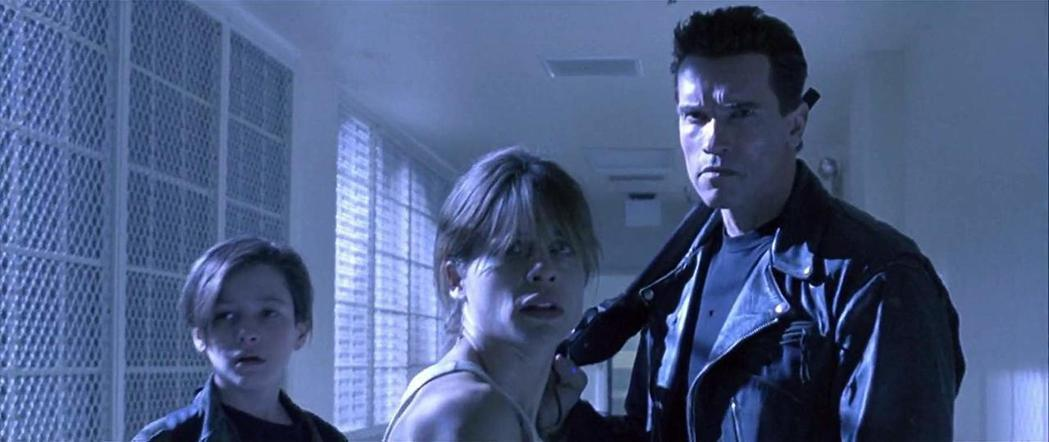 阿諾史瓦辛格與琳達漢彌爾頓在35之間合作了3部「魔鬼終結者」系列電影。圖/摘自i...