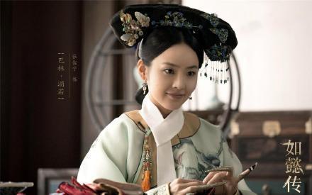 張佳寧以「如懿傳」性格直率的穎妃一角受歡迎。圖/摘自微博