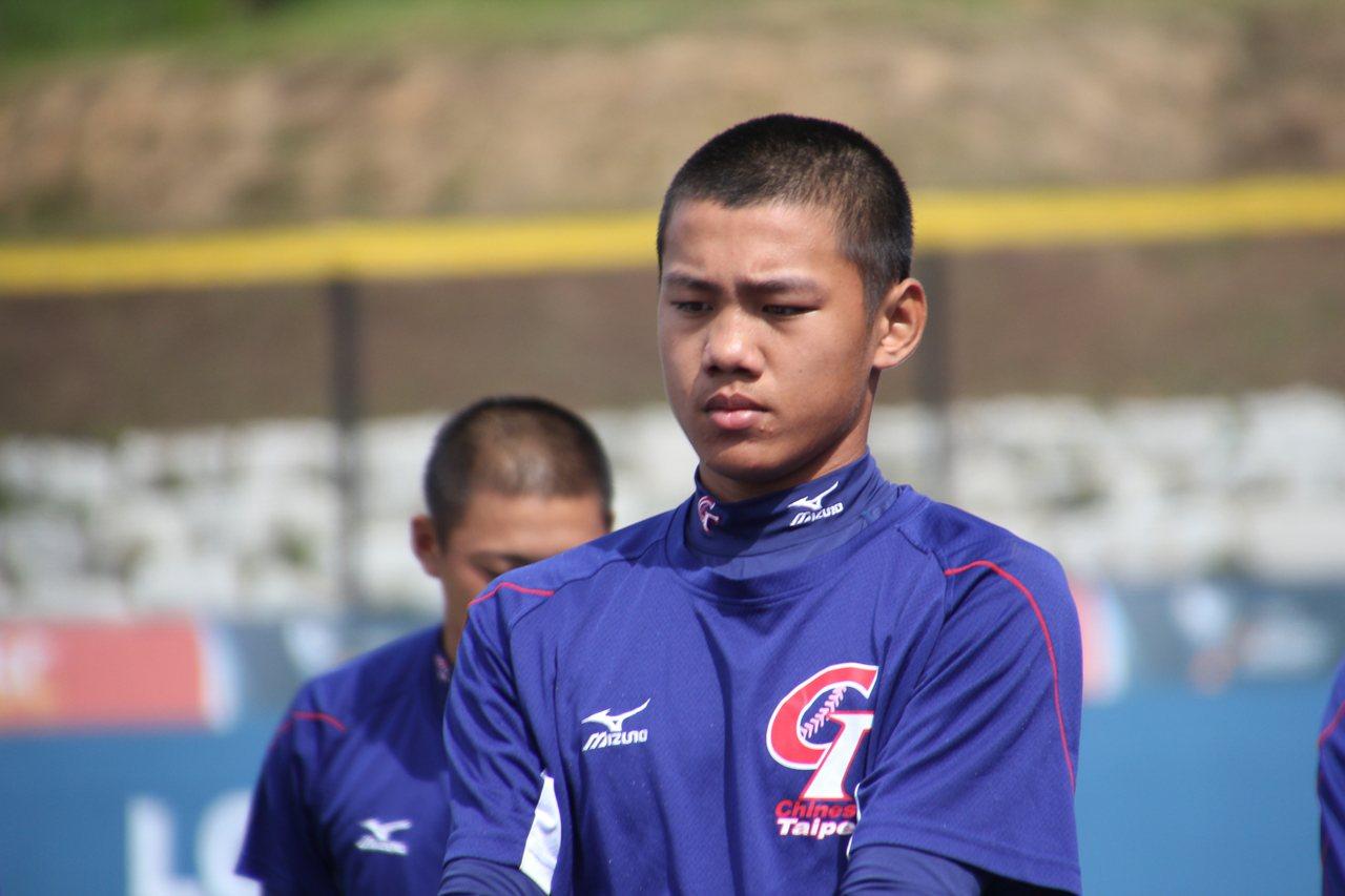 中華隊三壘手林子豪第2戰擔任指定打擊。記者葉姵妤/攝影