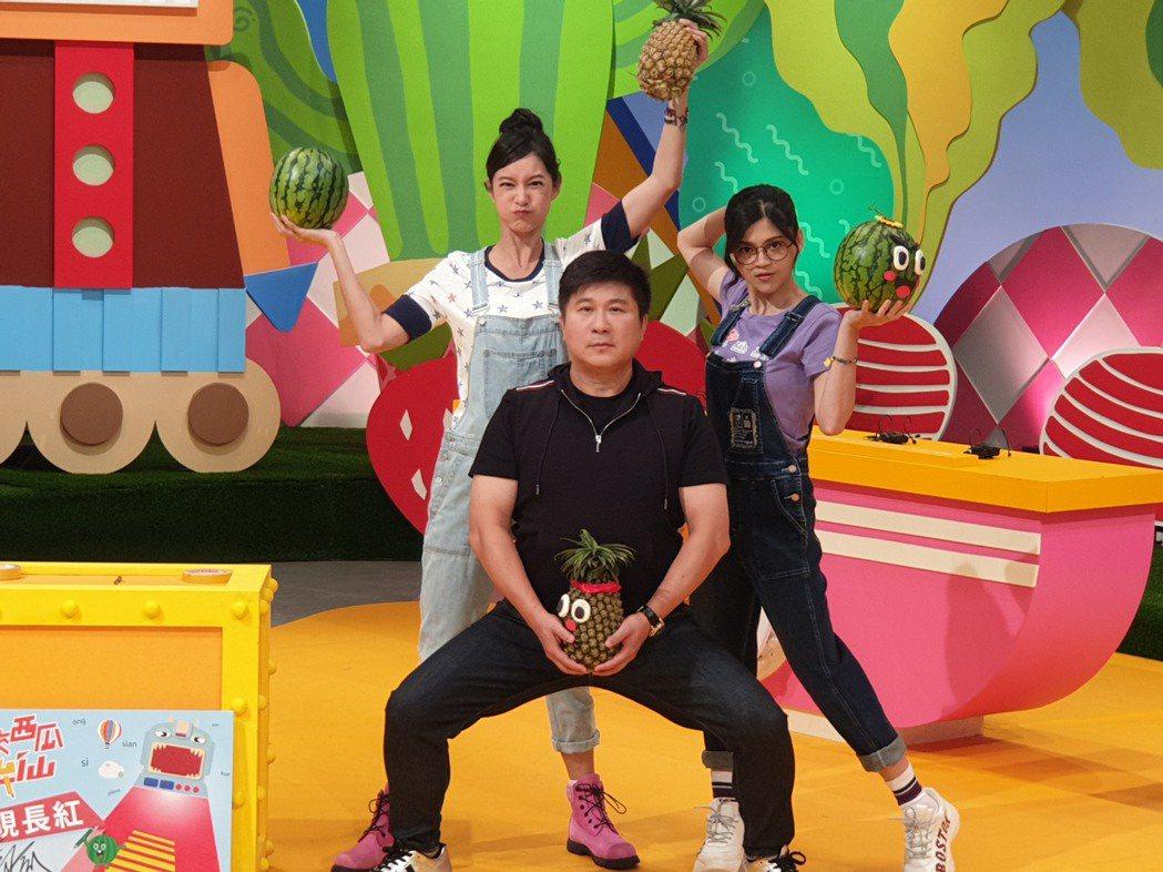 胡瓜今天幫Janet跟瑪莉亞助陣。記者李姿瑩/攝影