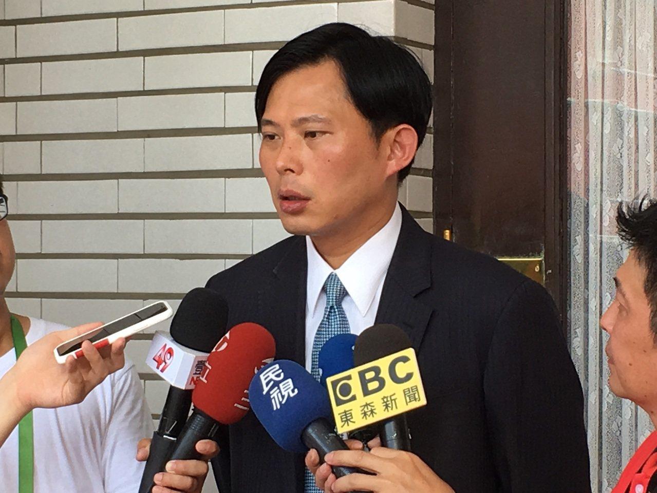 時代力量立委黃國昌。記者蔡晉宇/攝影