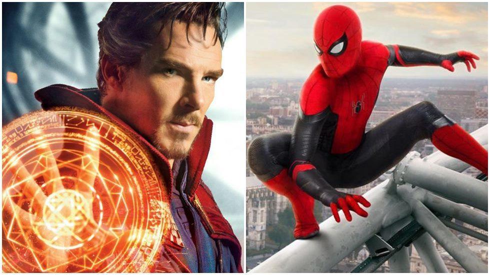 奇異博士、蜘蛛人。圖/迪士尼提供、索尼提供
