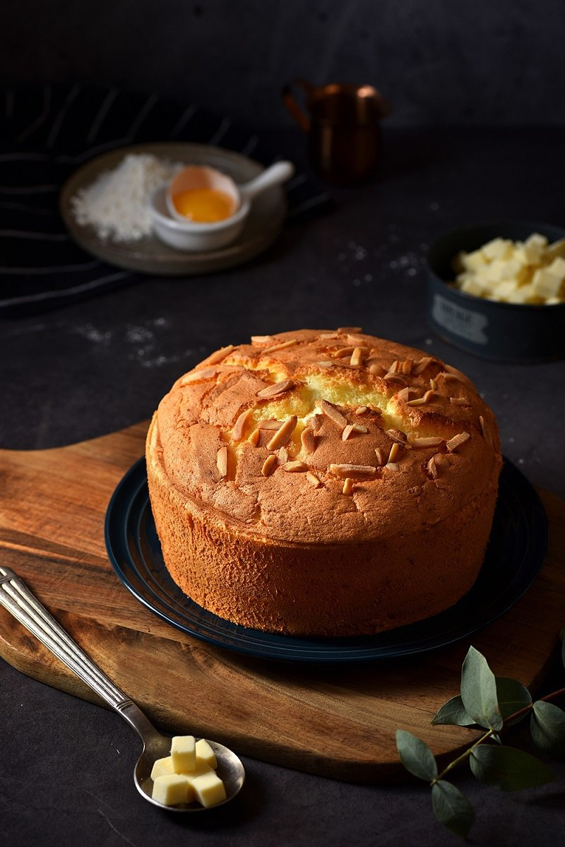 「春上布丁蛋糕」香濃起司,140元。圖/Global Mall提供