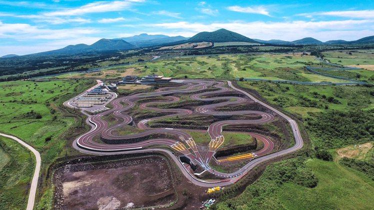 位於濟州島的「9.81重力賽車公園」是韓國第一座重力賽車場。圖/9.81重力賽車...