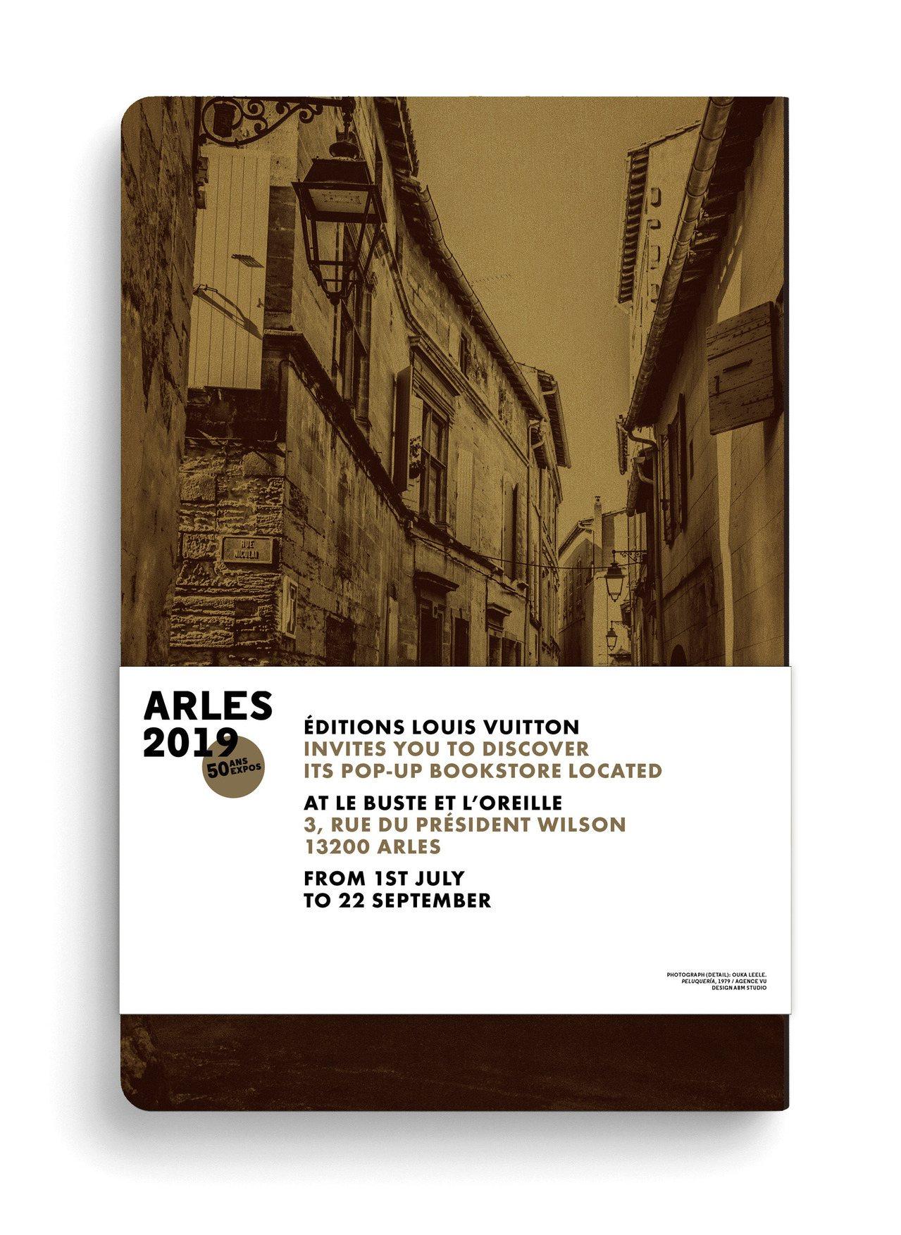 「亞爾市旅遊指南」收藏本,售價750元。圖/LV提供