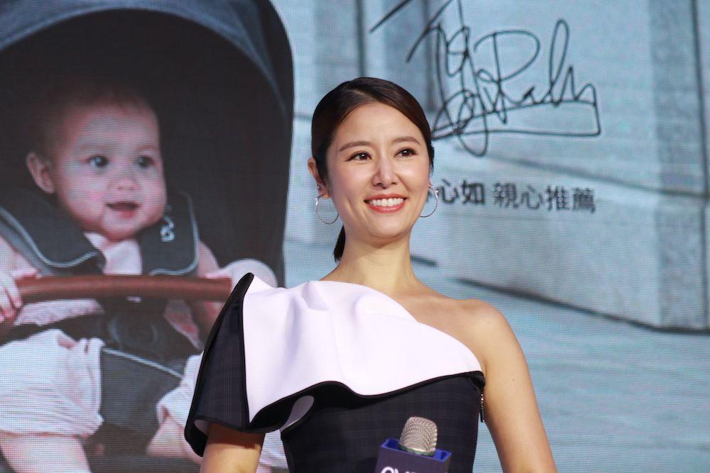 林心如出席母嬰品牌代言活動。記者陳慧貞/攝影
