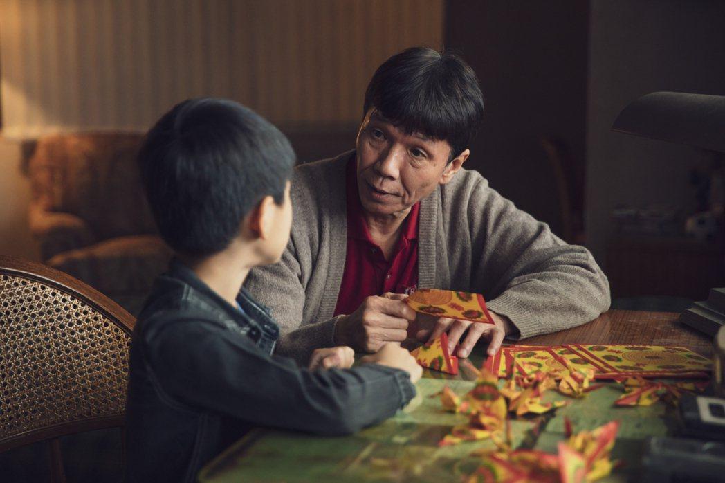 太保在戲中飾演李國毅的爸爸。圖/LINE TV提供