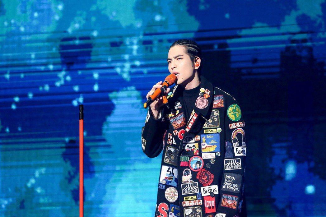 蕭敬騰在香港成功完成2場演唱會。 圖/華納音樂提供