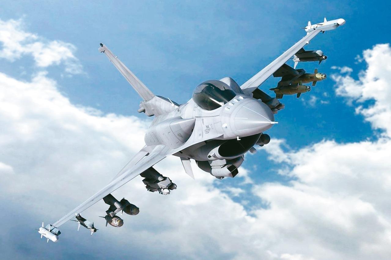 F-16 C/D BLK70裸機含兩個低阻力適型油箱。 圖/截自洛克希德馬丁官網