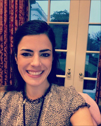 威斯特豪在其白宮辦公室自拍照。 (取自威斯特豪推特)