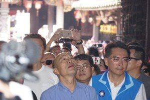 韓國瑜對郭台銘喊話:國民黨只有二人拿到榮譽黨員證