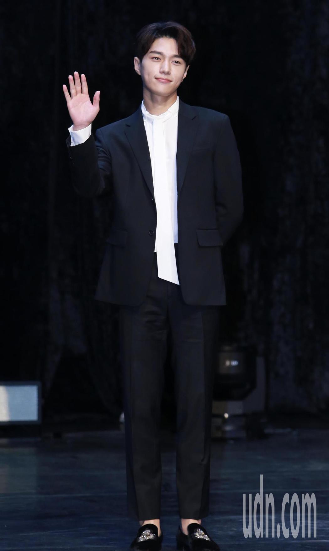韓星金明洙再度來台舉辦粉絲見面會。記者許正宏/攝影