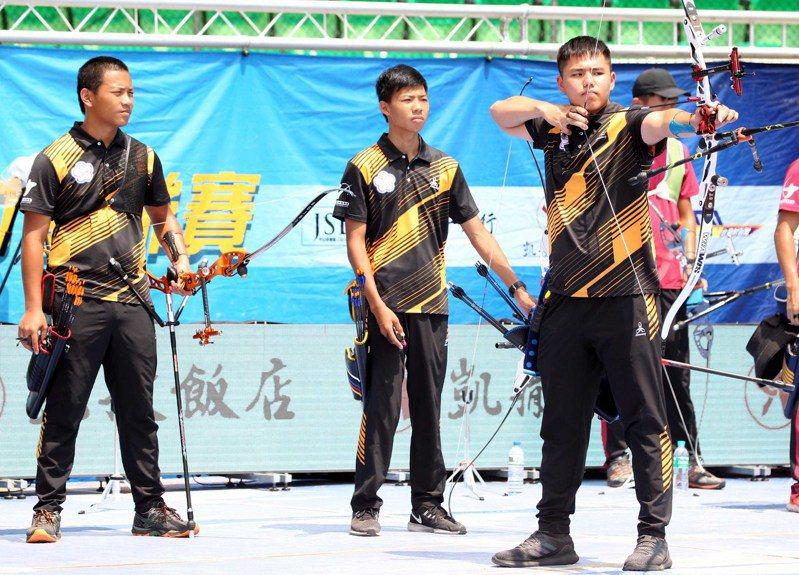 協會青年隊。圖/中華企業射箭聯盟提供