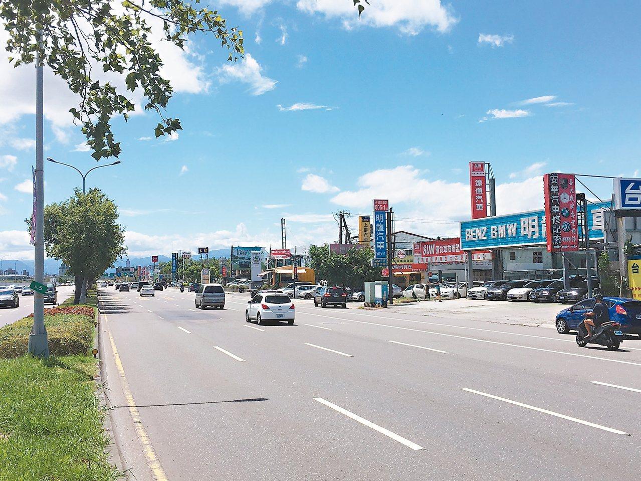 有30多年歷史的台北市承德汽車商圈,專售中古車,近百家規模,是不少想買二手車民眾...