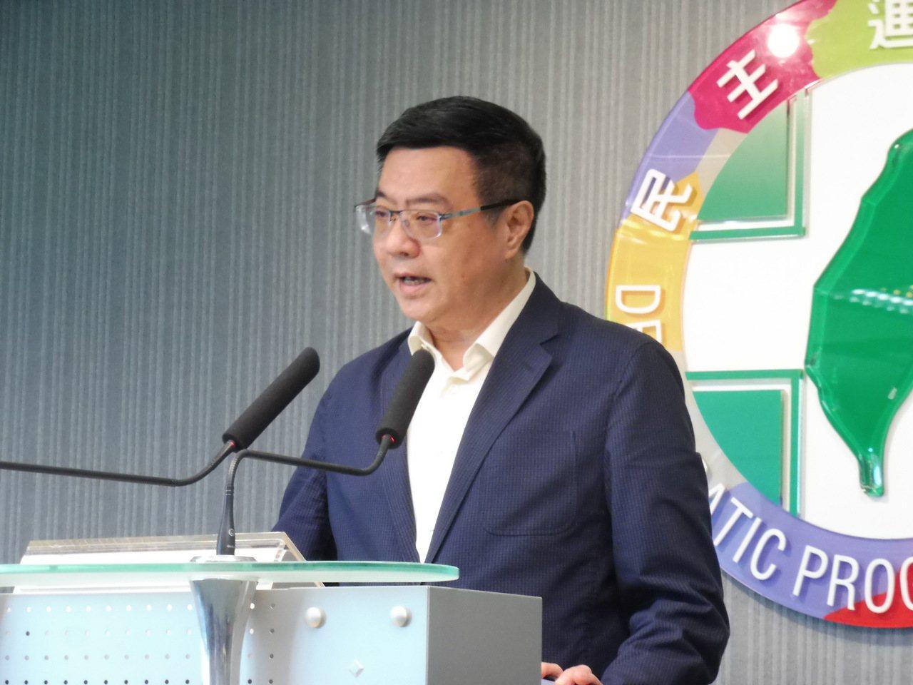民進黨主席卓榮泰。聯合報系資料照片/記者賴于榛攝影
