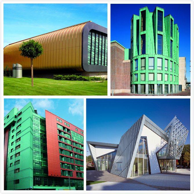 德國進口Novelis及KME至今已創造出許多獨特的建築風格,絶對可完美詮釋出建...
