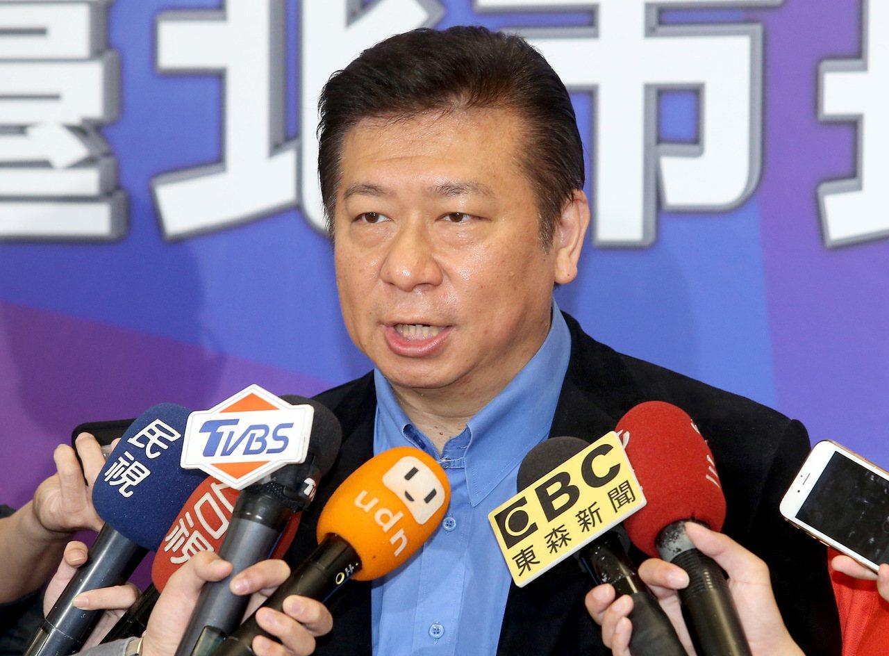 前陸委會副主委張顯耀。 聯合報系資料照/記者余承翰攝影