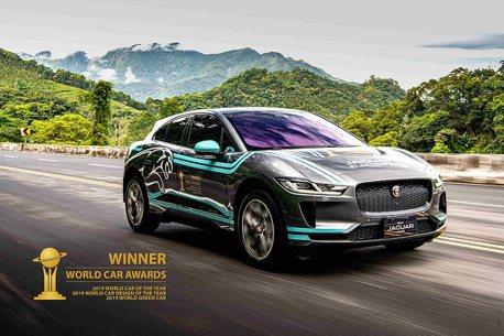 除了Model3、Leaf!Jaguar I-PACE豪華純電跨界跑車也展開預售