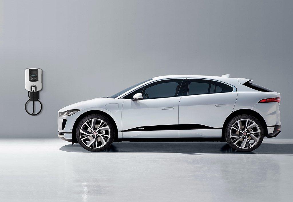 I-PACE承襲Jaguar源自賽道的豹力性能DNA,風阻系數僅0.29Cd的類...
