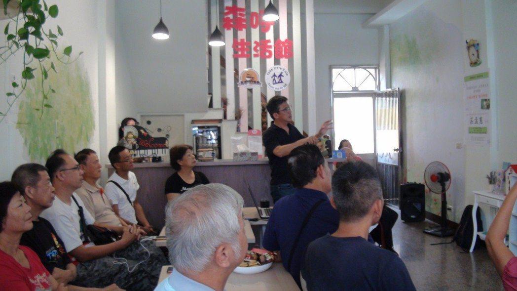 森呼吸生活館也是社區民眾成長學習的地方。 記者謝恩得/攝影