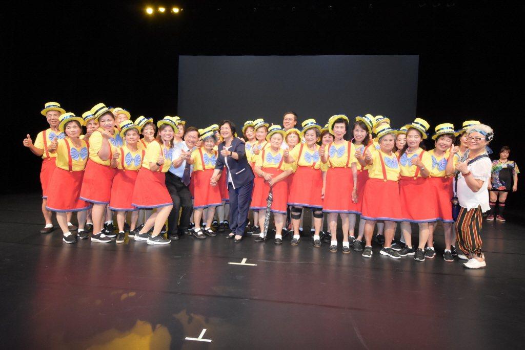 彰化縣政府委託弘道老人福利基金會,舉辦彰化縣首見的「彰化傳耆音樂劇-小紅帽的百歲...