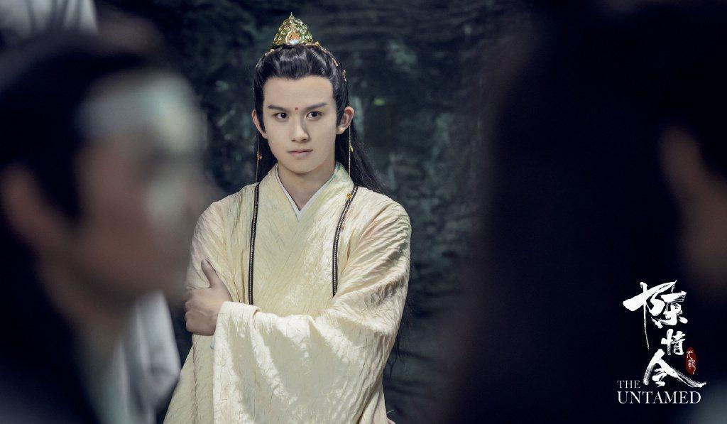 漆培鑫在「陳情令」中演出金凌。圖/擷自微博