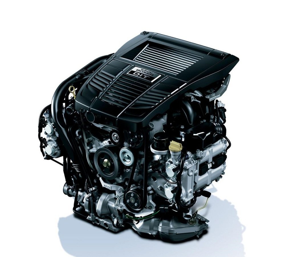 揮別EJ系列引擎,WRX STI將換裝FA20DIT引擎。 摘自Subaru