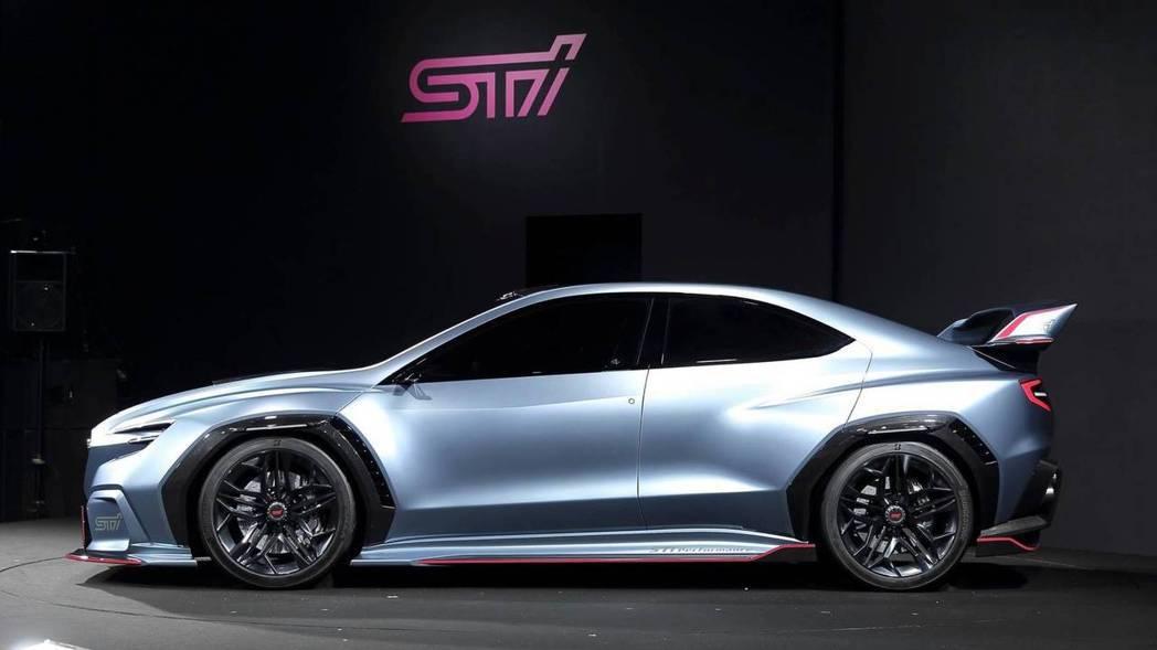 VIZIV STI Performance Concept。 摘自Subaru