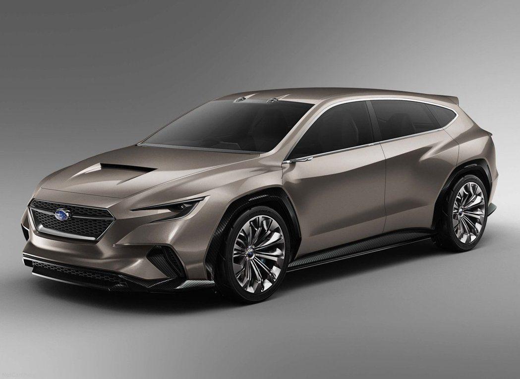 Subaru VIZIV Tourer Concept 。 摘自Subaru