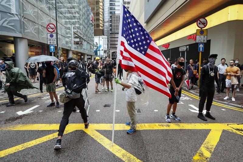 攝於8月31日,香港。 圖/歐新社