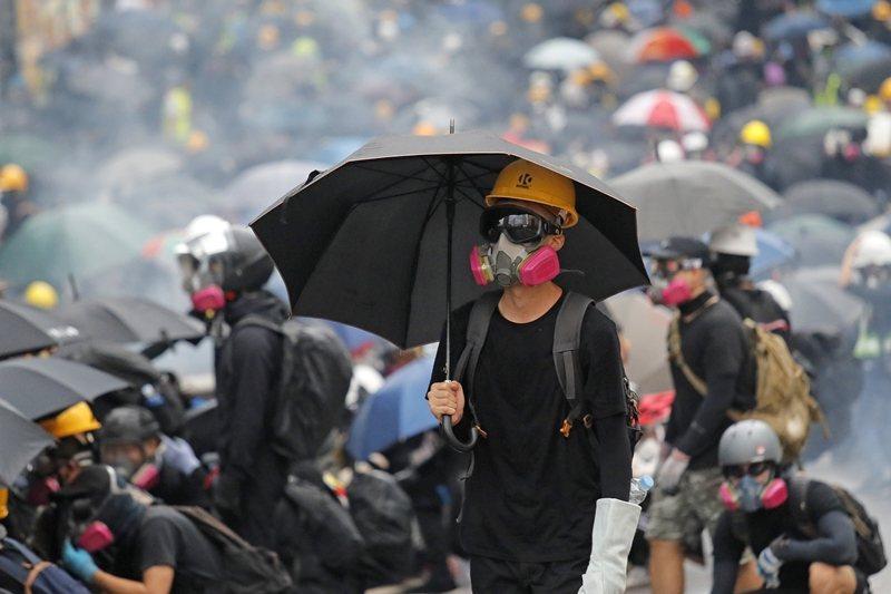 攝於8月31日,香港。 圖/美聯社