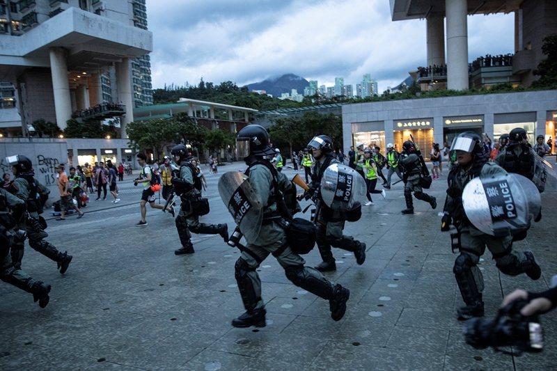 攝於9月1日,香港。 圖/路透社