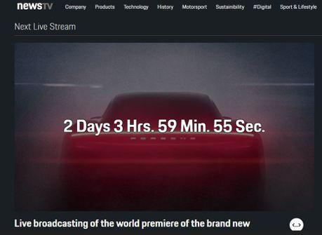 Porsche Taycan首演登場 NewsTV.porsche.com全球同步直播!