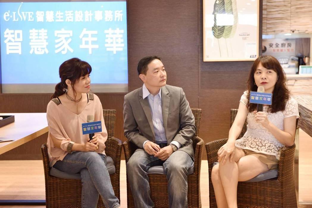 孫慶龍(中)、余懷瑾(右)以自己家人為例,呼應了網友在意長輩與小孩的安全問題。 ...