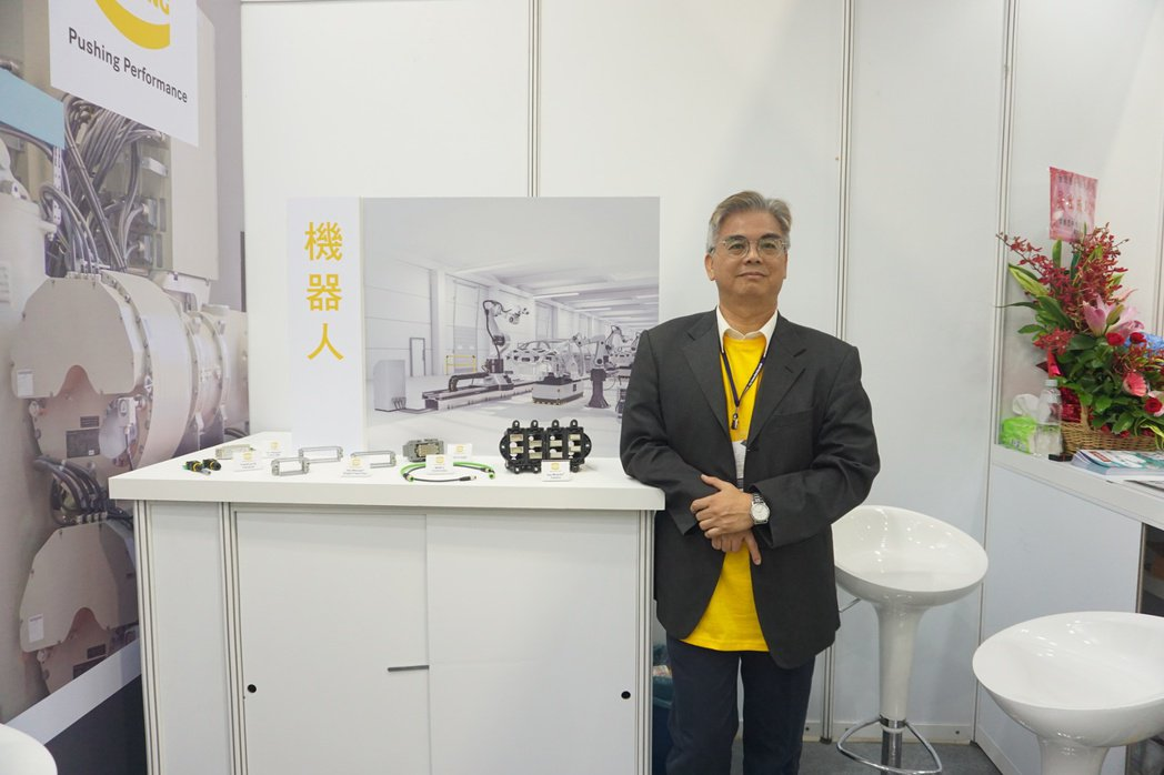 台灣浩亭公司協理林筆章。 金萊萊/攝影