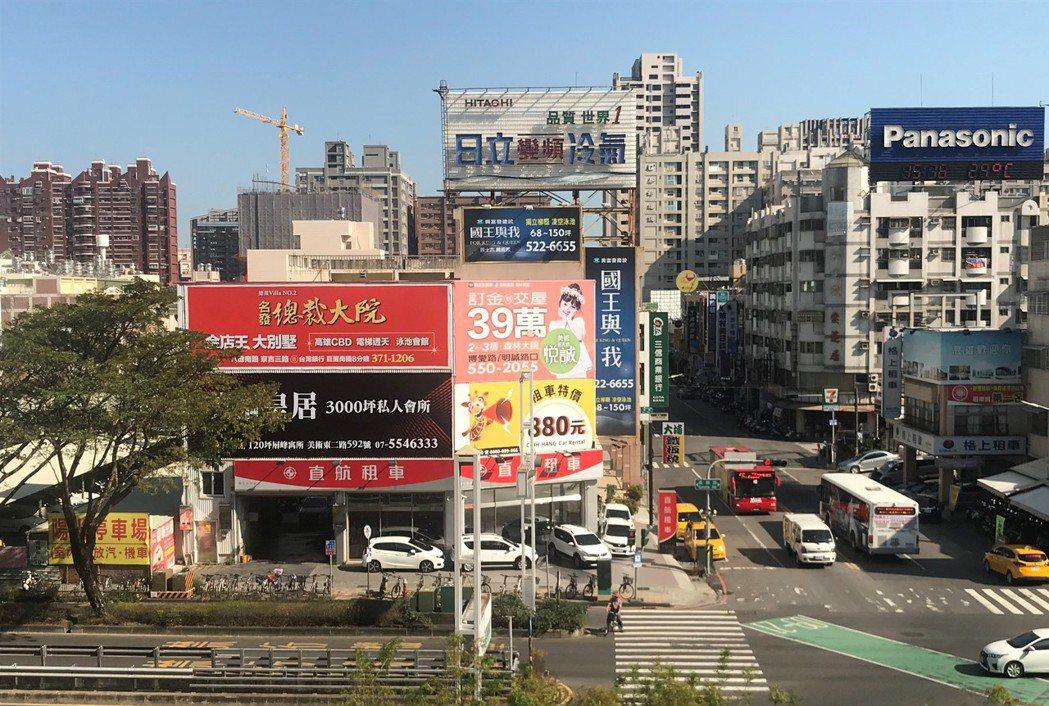 高雄街景 記者游智文/攝影