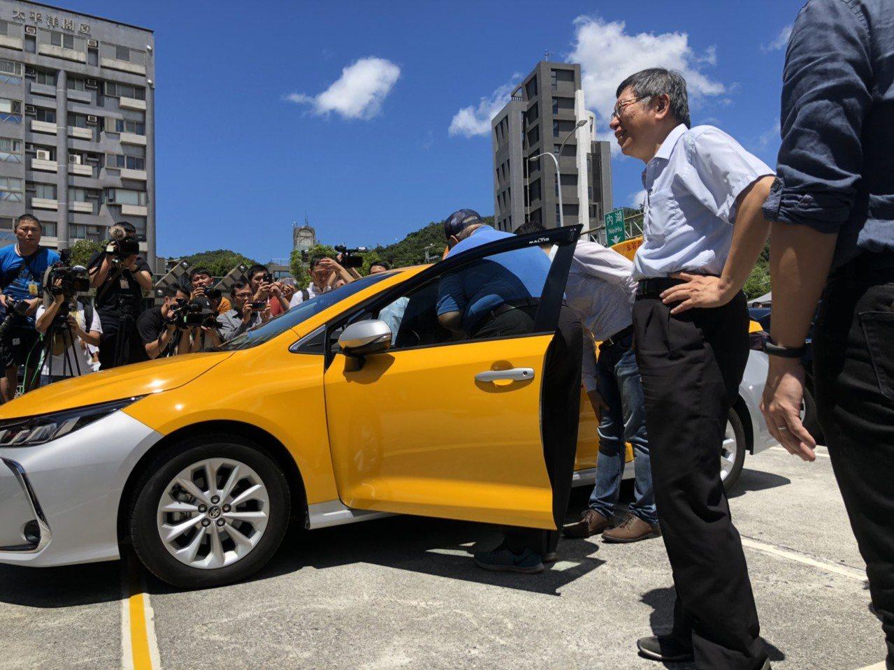 台北市長柯文哲和總統蔡英文沒有過多互動。記者曹悅華/攝影