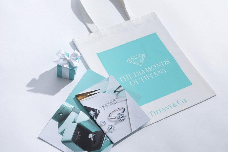 為了「Tiffany美鑽傳奇主題展」品牌特別準備了文青質感與環保實用性的紀念小物...