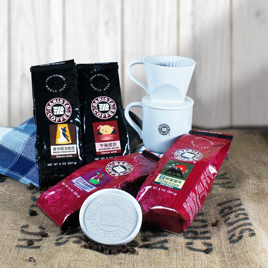 中秋送禮商機大,連鎖咖啡店業者也加入戰局。 圖/西雅圖極品咖啡提供